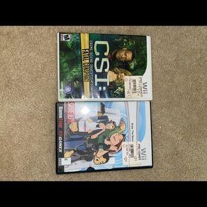CSI and Bratz Games
